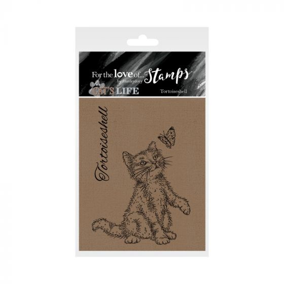 It's A Cat's Life Clear Stamp - Tortoiseshell