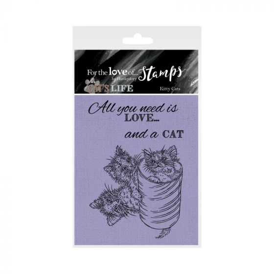It's A Cat's Life Clear Stamp - Kitty Cats