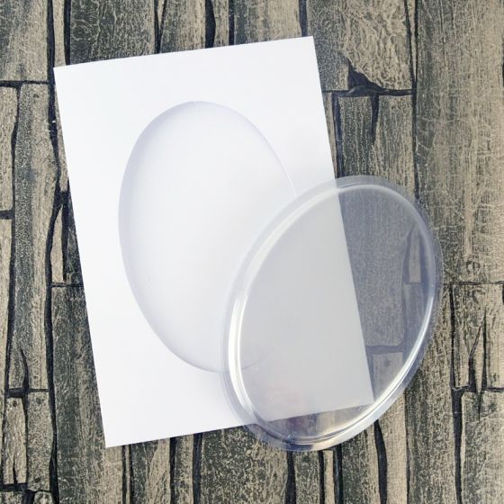 Dimensional Card Kit - Oval