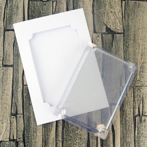 Dimensional Card Kit - Inverted Corner Rectangle