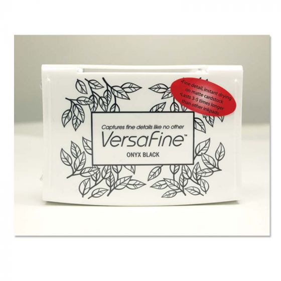 Versafine Stamp Pad -  Onyx Black