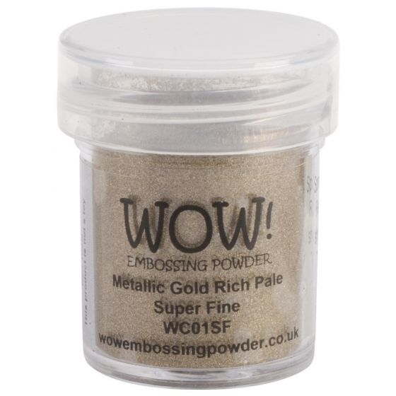 Wow Embossing Powders - Gold Rich