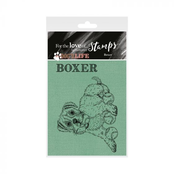 It's a Dog's Life Clear Stamp - Boxer