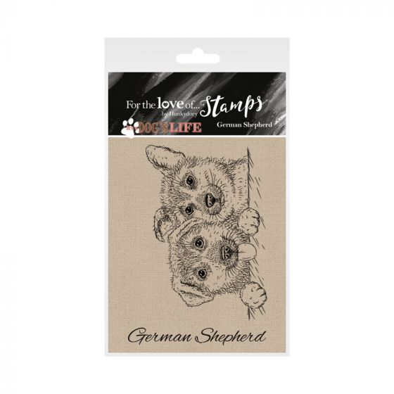 It's a Dog's Life Clear Stamp - German Shepherd