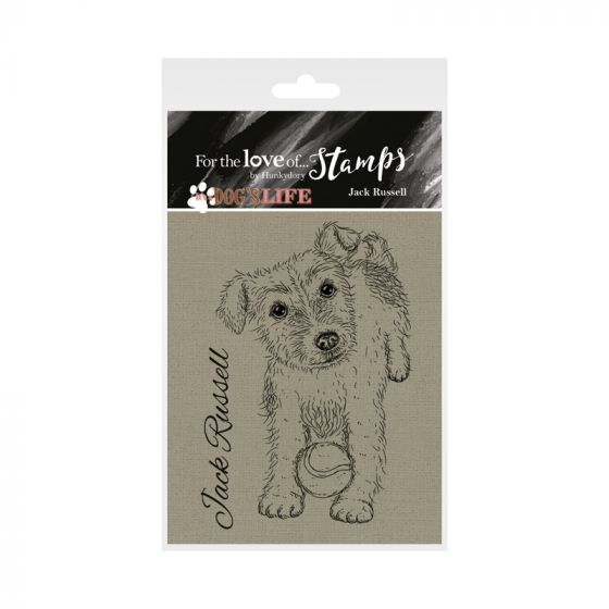 It's a Dog's Life Clear Stamp - Jack Russell