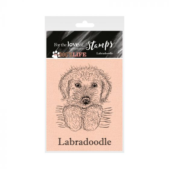 It's a Dog's Life Clear Stamp - Labradoodle