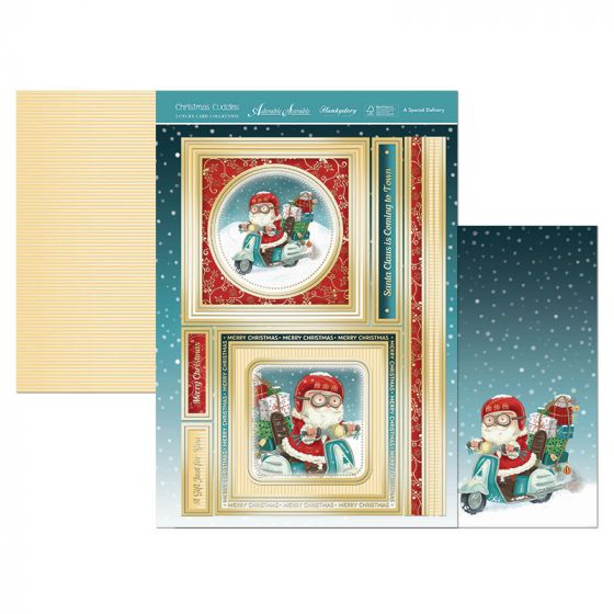 Christmas Cuddles Topper Set - A Special Delivery