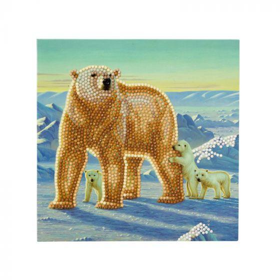Crystal Card Kit - Polar Family