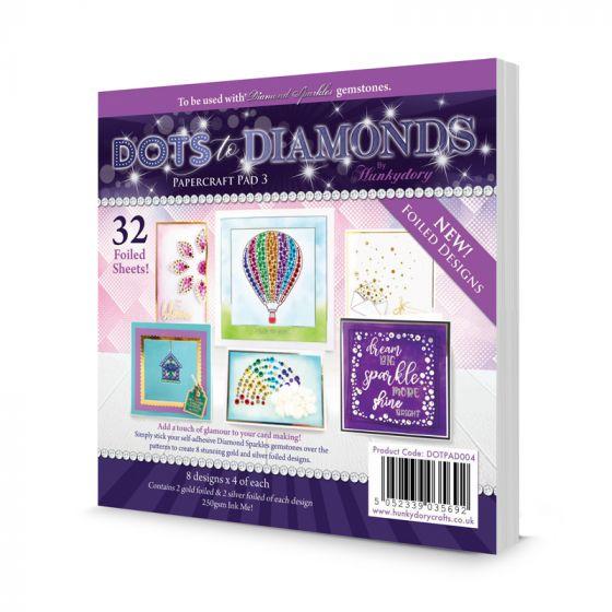 Dots to Diamonds Papercraft Pad 3