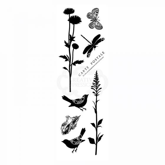 Woodware Clear Stamp - Natural Elements