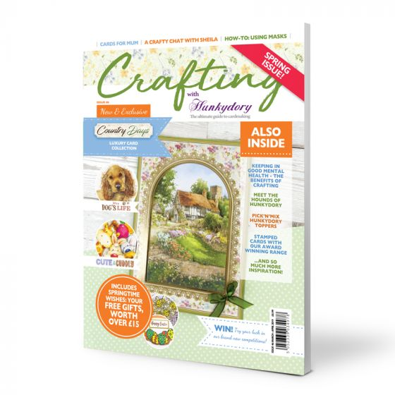 Crafting with Hunkydory Project Magazine - Issue 46