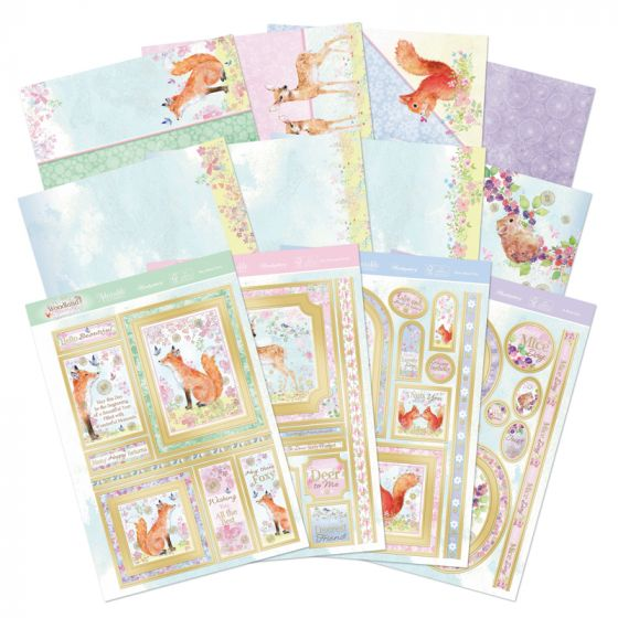 Woodland Friends Deluxe Card Collection