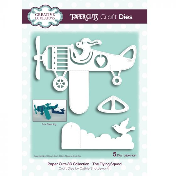 Paper Cuts 3D Collection - The Flying Squad