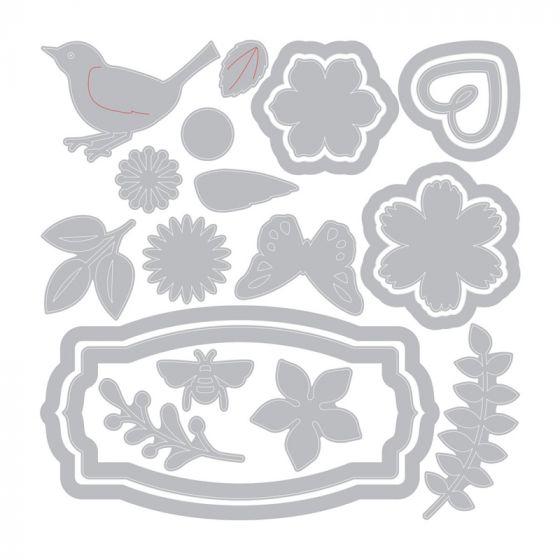 Sizzix Thinlits Die Set - Spring Things by Lynda Kanase