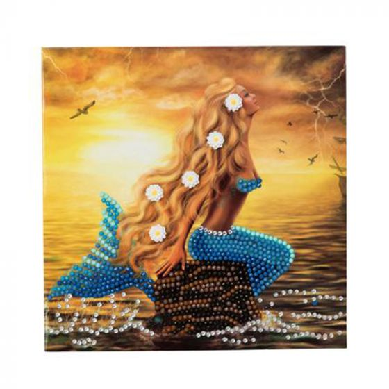 Crystal Card Kit - Mermaid Dreams