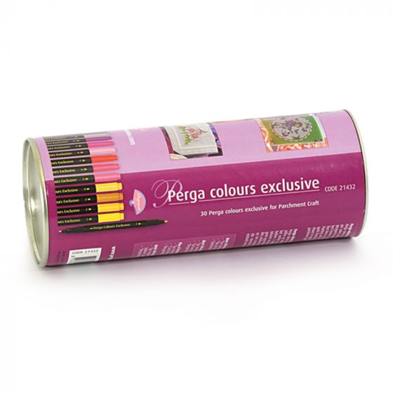 Perga Colours Exclusive x 30 shades