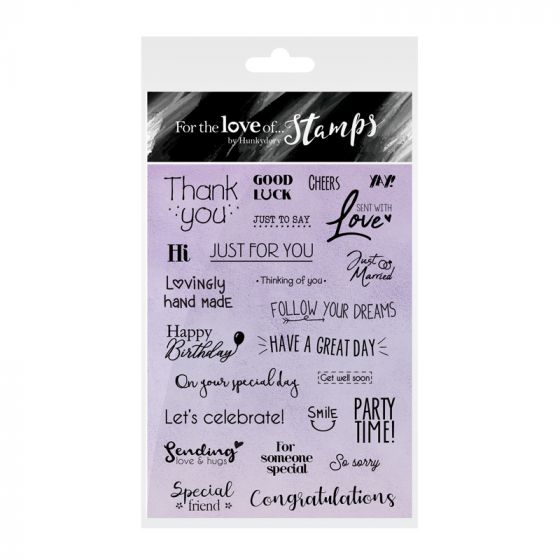 For the Love of Stamps Terrific Tags & Beautiful Banners Sentiments