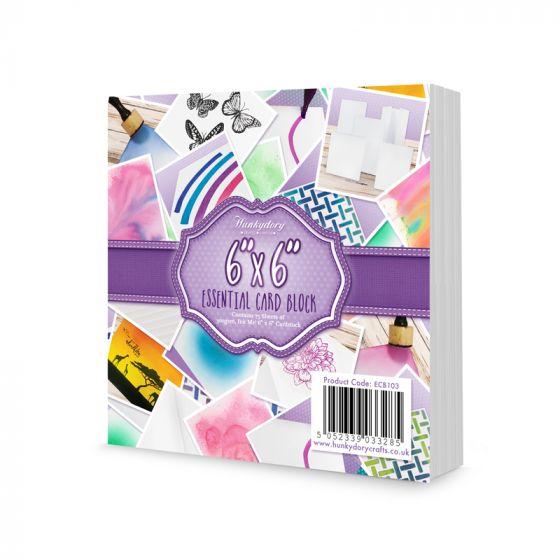 """Ink Me! 6"""" x 6"""" Essential Card Block"""