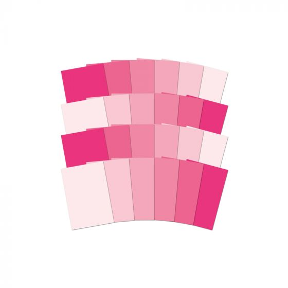 Adorable Scorable Colour Family - Pink
