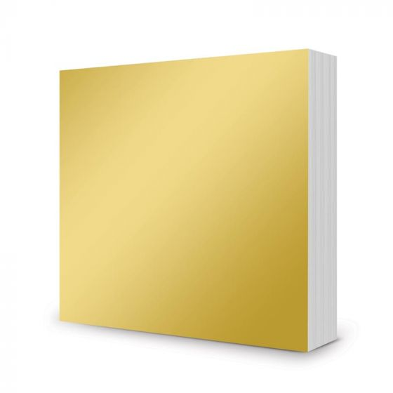 "Mirri Mats - 6"" x 6""  - Rich Gold - 100 Sheets"