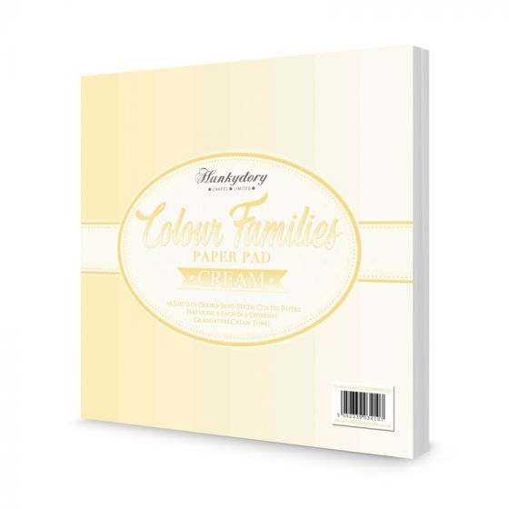 Colour Families Paper Pad - Cream