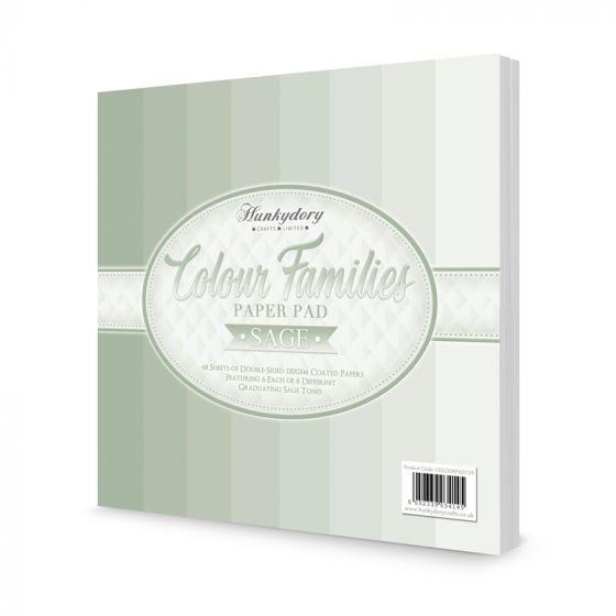 Colour Families Paper Pad - Sage