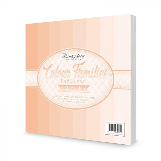 Colour Families Paper Pad - Peach