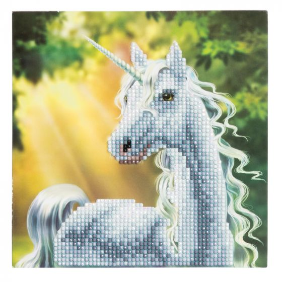 Crystal Card Kit - Sunshine Unicorn