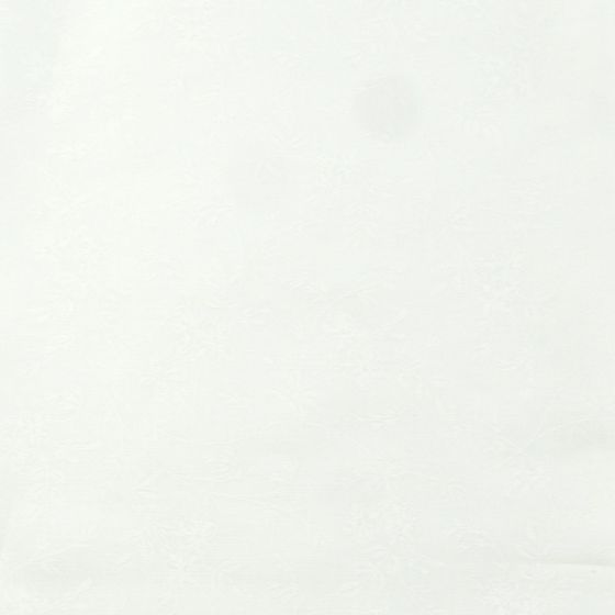 Moda Muslin Mates White Floral - White on White