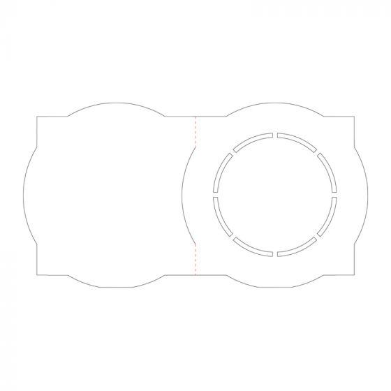 Ink Me! Luxury Shaped Cards - Porthole