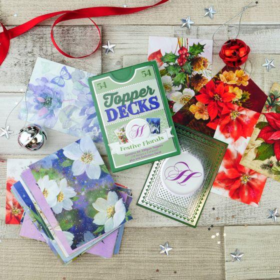 Festive Florals Topper Deck
