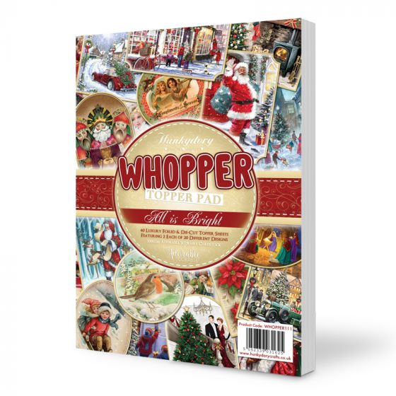 Whopper Topper Pad - All is Bright