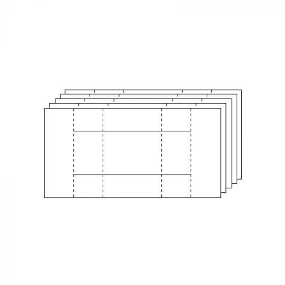 Fancy Shaped Card Blanks - A6 Kinetic