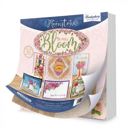 """In Full Bloom 8"""" x 8"""" Co-ordinating Paper Pad"""