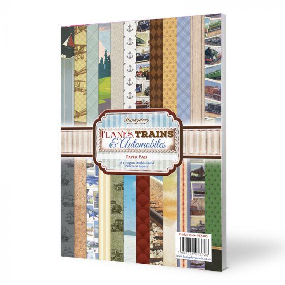 Planes, Trains & Automobiles A4 Paper Pad