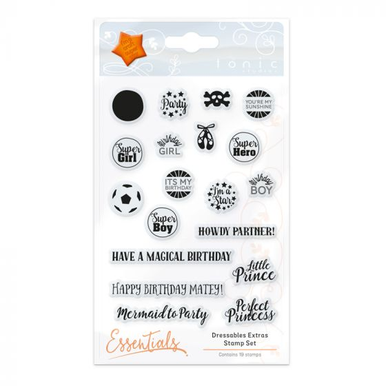 Dressables - Extra Stamp Set