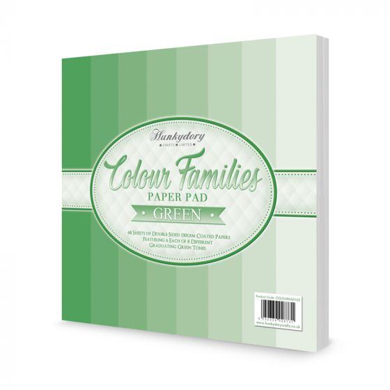 Colour Families Paper Pad - Green