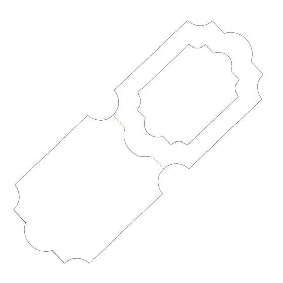 "Miniature Picture Perfect Landscape Aperture Card Blanks - 4"" x 6"""