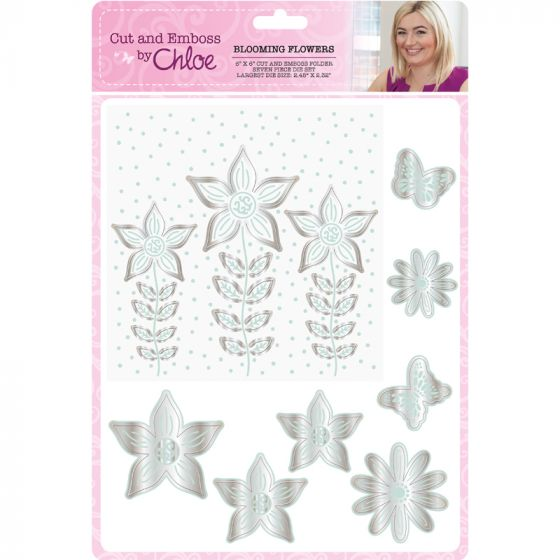 Cut and Emboss by Chloe - Blossoming Flowers