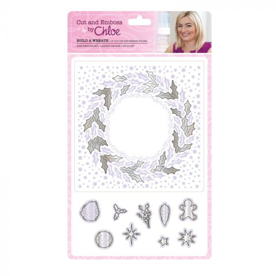 Cut and Emboss by Chloe - Build a Wreath