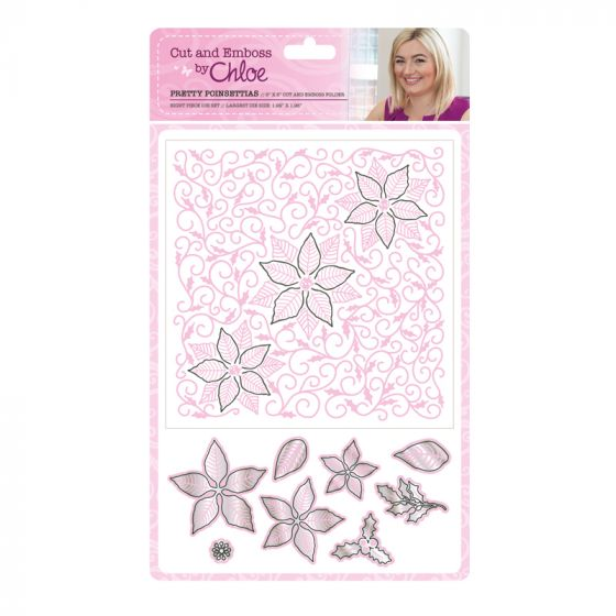 Cut and Emboss by Chloe - Pretty Poinsettias