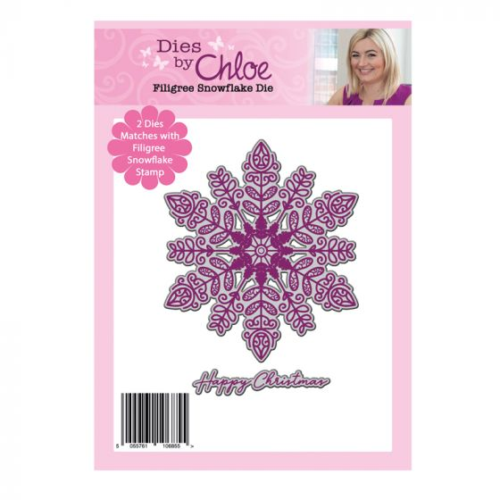 Dies by Chloe - Filigree Snowflake Die Set