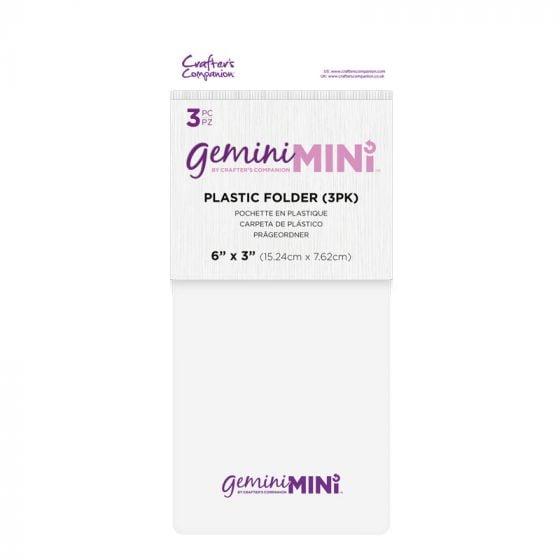 Gemini Mini Accessories - Plastic Folder - 3 pack