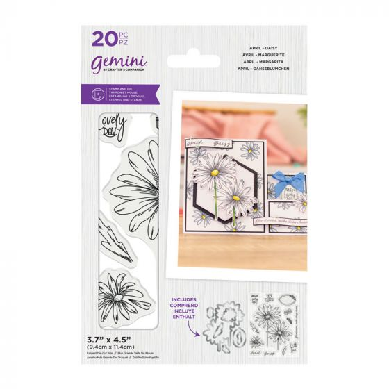 Gemini - Stamp & Die - April - Daisy