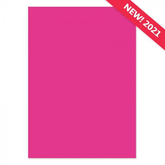 A4 Adorable Scorable Cardstock - Hot Magenta x 10 Sheets