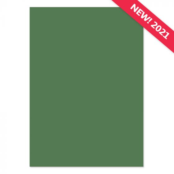 A4 Adorable Scorable Cardstock - Moss Green x 10 Sheets
