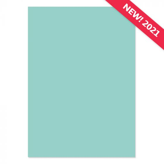 A4 Adorable Scorable Cardstock - Tranquil Oasis x 10 Sheets