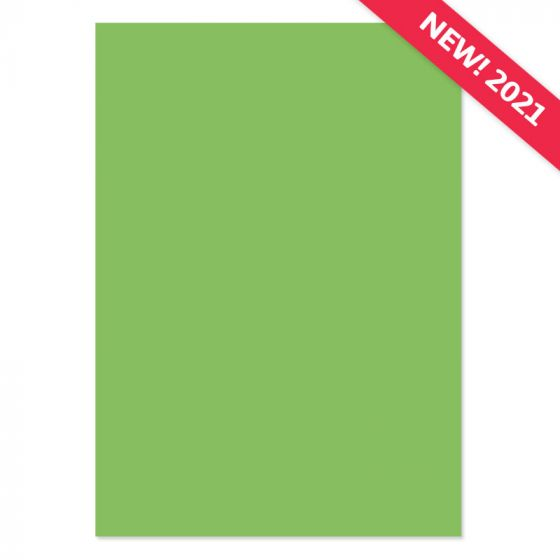 A4 Adorable Scorable Cardstock - Leafy Green x 10 Sheets