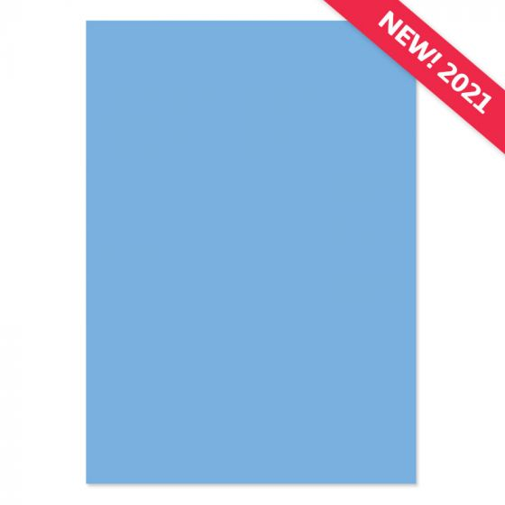 A4 Adorable Scorable Cardstock - Forget Me Not Blue x 10 Sheets