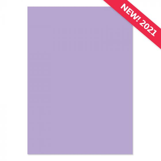 A4 Adorable Scorable Cardstock - Wisteria x 10 Sheets